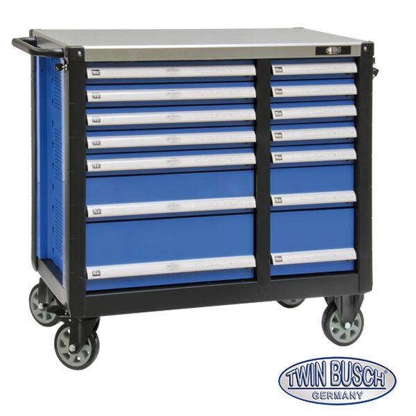 garagepro servante d 39 atelier vide 14 tiroirs. Black Bedroom Furniture Sets. Home Design Ideas