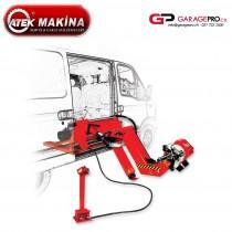 Démonte-pneu automatique mobile Atek Makina Allegro 65 00 par Garagepro.ch dessin dans utilitaire