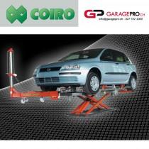 Banc de redressage Coiro LB 2500 par Garagepro.ch vue avec voiture
