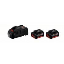 Set de base 2 batteries 18 V 6,0 Ah + Chargeur 1880 CV