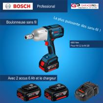 Boulonneuse Bosch offre spéciale